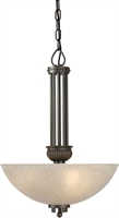 Picture for category Forte 2352-03-32 Forte Lighting Pendant Lanterns 16in Steel 3-light