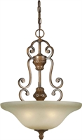 Picture for category Forte 2419-04-41 Forte Lighting Pendant Lanterns 18in Steel 4-light