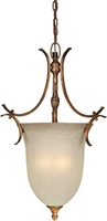 Picture for category Forte 2480-03-41 Forte Lighting Pendant Lanterns 15in Steel 3-light
