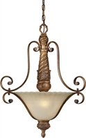 Picture for category Forte 2482-03-41 Forte Lighting Pendant Lanterns 20in Poly 3-light