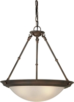 Picture for category Forte 2516-03-32 Forte Lighting Pendant Lanterns 18in Steel 3-light