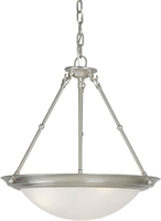 Picture for category Forte 2516-03-55 Forte Lighting Pendant Lanterns 18in Steel 3-light