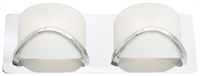 Picture for category DVI DVP0522CH-OP Solstice Vanity Lighting 3in 2-light