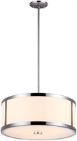 Picture for category DVI DVP1105CH-OP Uptown Pendants 3-light