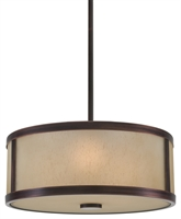 Picture for category DVI DVP1105ORB-OP Uptown Pendants 3-light