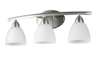 Picture for category DVI DVP2043CH-OP Longbow Vanity Lighting 7in 3-light