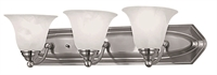 Picture for category DVI DVP42403SN Diamond Vanity Lighting 6in 3-light