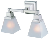 Picture for category DVI DVP7622SN Aurora Vanity Lighting 8in 2-light