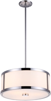 Picture for category DVI DVP1120CH-OP Uptown Pendants 8in 3-light
