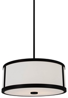 Picture for category DVI DVP1120GR-OP Uptown Pendants 8in 3-light