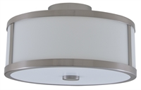 Picture for category DVI DVP1112SN-OP Uptown Flush Mounts 8in 3-light