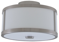 Picture for category DVI DVP1113SN-OP Uptown Flush Mounts 8in 2-light