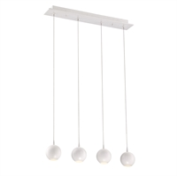 Picture for category Eurofase 28167-013 Patruno Chandeliers 4in MATTE WHITE 4-light