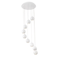 Picture for category Eurofase 28173-014 Patruno Chandeliers MATTE WHITE 9-light
