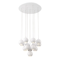 Picture for category Eurofase 28174-011 Patruno Chandeliers MATTE WHITE 14-light