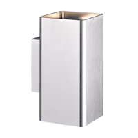 Picture for category Eurofase 28302-018 Lungo Outdoor Flush Mount 3in BRUSHED ALUMINUM 2-light