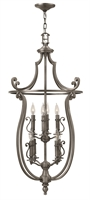 Picture for category Hinkley 4258PL Plymouth Chandeliers 24in Polished Antique Nickel Metal 8-light
