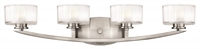 Picture for category Hinkley 5594BN-LED Meridian Bath Lighting 29in Brushed Nickel Metal 4-light