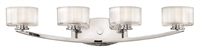 Picture for category Hinkley 5594CM-LED Meridian Bath Lighting 29in Chrome Metal 4-light