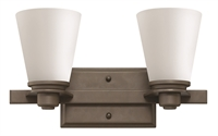 Picture for category Hinkley 5552KZ Avon Bath Lighting 15in Buckeye Bronze Metal 2-light