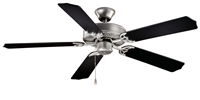 Picture for category Vaxcel FN52288BS Medallion Ceiling Fans 52in Flash Silver Steel