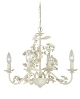 Picture for category Vaxcel H0144 Leilani Mini Chandeliers 19in Antique White Steel 4-light