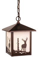 Picture for category Vaxcel OD33586BBZ Bryce Pendants 8in Burnished Bronze Steel 1-light