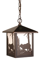 Picture for category Vaxcel OD35086BBZ Bozeman Pendants 8in Burnished Bronze Steel 1-light