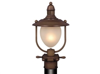 Picture for category Vaxcel OP25595RC Orleans Outdoor Lighting Lamps 9in Antique Red Copper Steel