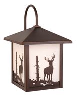 Picture for category Vaxcel OW33583BBZ Bryce Wall Lantern 8in Burnished Bronze Steel 1-light