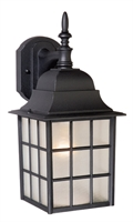 Picture for category Vaxcel OW36763TB Vista Outdoor Lighting Lamps 6in Textured Black Aluminum