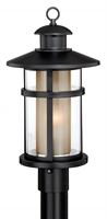 Picture for category Vaxcel T0139 Cadiz Outdoor Lighting Lamps 10in Oil Burnished Bronze Steel