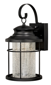 Picture of Vaxcel T0163 Melbourne Wall Lantern 8in Oil Rubbed Bronze Steel 1-light