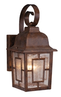 Picture for category Vaxcel OW37563RBZ Vista Wall Lantern 6in Royal Bronze Aluminum 1-light