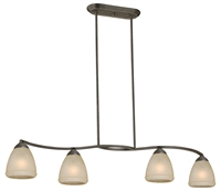 Picture for category Vaxcel P0005 Helsinki Chandeliers 45in Steel 4-light