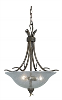 Picture for category Vaxcel P0064 Monterey Pendants 20in Steel 3-light