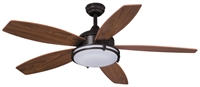 Picture for category Vaxcel F0038 Tali Led Ceiling Fans 52in Oil Burnished Bronze Steel 1-light