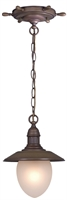 Picture for category Vaxcel PD25509RC Orleans Pendants 9in Antique Red Copper Steel 1-light