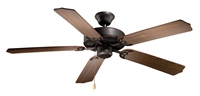 Picture for category Vaxcel FN52288NB Medallion Ceiling Fans 52in Noble Bronze Steel