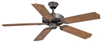 Picture for category Vaxcel FN52298NB Medallion Ceiling Fans 52in Noble Bronze Steel