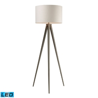 Picture for category Dimond D2121-LED Salford Floor Lamps 20in Satin Nickel Steel 1-light
