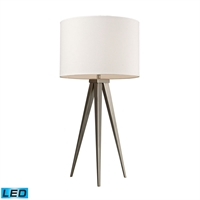 Picture for category Dimond D2122-LED Salford Table Lamps 14in Satin Nickel Steel 1-light