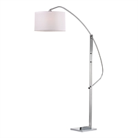 Picture for category Dimond D2471 Assissi Floor Lamps 22in Polished Nickel Metal 1-light