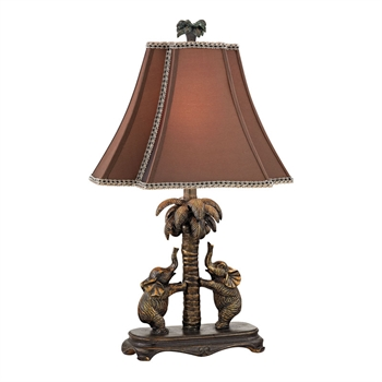 Picture of Dimond D2475 Adamslane Table Lamps 13in Bridgetown Bronze Resin 1-light