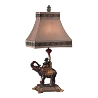 Picture for category Dimond D2476 Alanbrook Table Lamps 11in Brasilia Bronze Resin 1-light