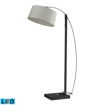 Picture of Dimond D2183-LED Logan square Floor Lamps 66in Dark Brown Metal 1-light