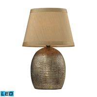 Picture for category Dimond D2222-LED Gilead Table Lamps 13in Meknes Bronze Ceramic 1-light