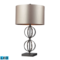 Picture for category Dimond D2224-LED Danforth Table Lamps 16in Coffee Plating Steel 1-light