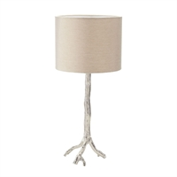 Picture for category Dimond 468-022 Tree Branch Table Lamps 12in Nickel Metal 1-light
