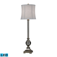 Picture for category Dimond D2309-LED Corvallis Table Lamps 11in Clear Polished Nickel Metal Crystal
